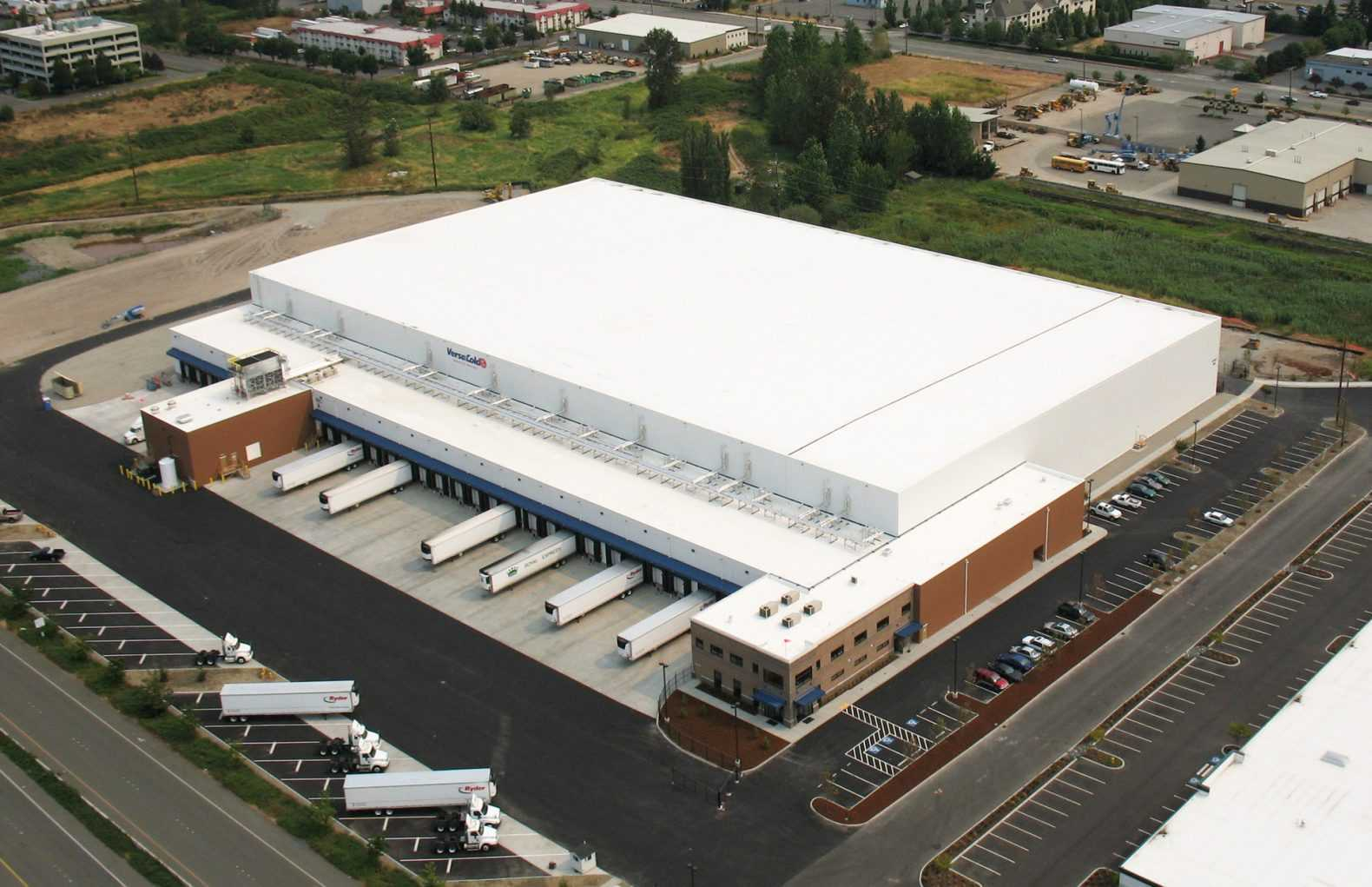 Henningsen Cold Storage. Columbia Fruit. Firestone Pacific Foods. Americold - Tacoma & Leading Cold Storage Contractor: Fisher Construction Group