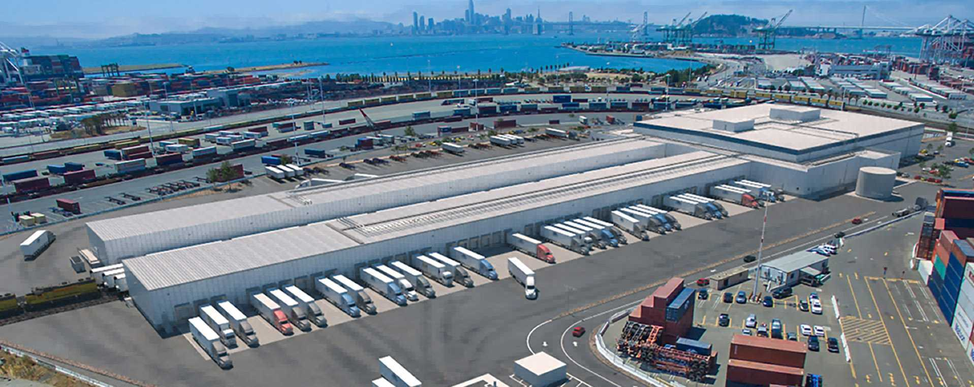 Fisher Construction Group Builds Lineage Logistic's Cool Port